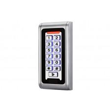 Вандалоустойчив и водоустойчив корпус RFID 125kHz система за контрол на достъп с клавиатура и чип
