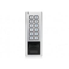Вандалоустойчива RFID 125kHz система за контрол на достъп с клавиатура и чип