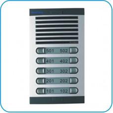 Аналогово домофонно табло Hycomm с 10 бутона